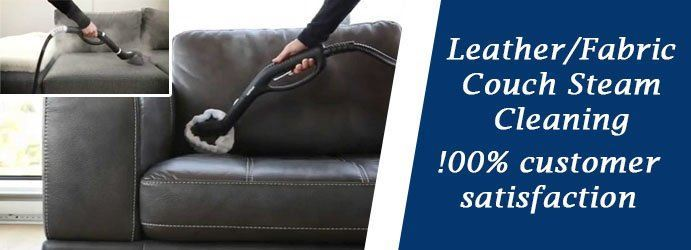 Leather/Fabric Couch Steam Cleaning