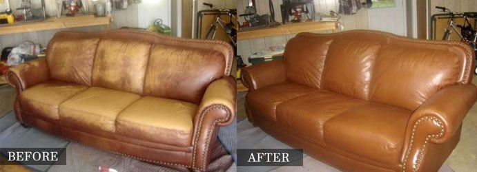Leather Furniture Restoration Blind Bight