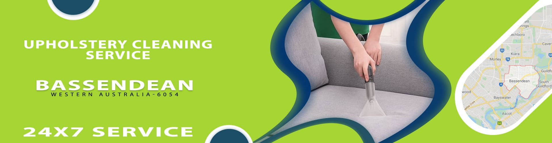 Upholstery Cleaning Bassendean