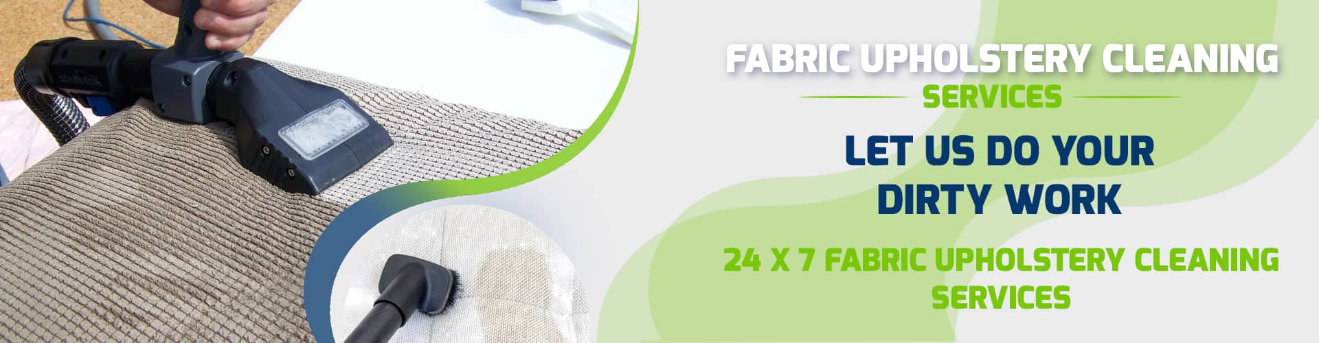 Fabric Upholstery Cleaning Services