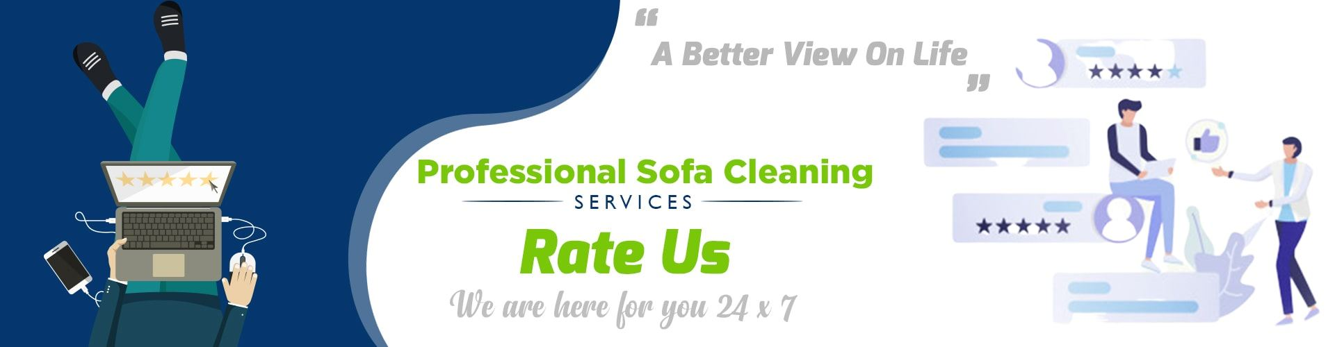 Professional Sofa Cleaning Services