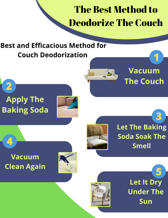 best method to deodorize the couch